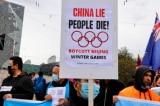 TNS Úc ủng hộ các cuộc biểu tình phản đối Thế vận hội Bắc Kinh 2022