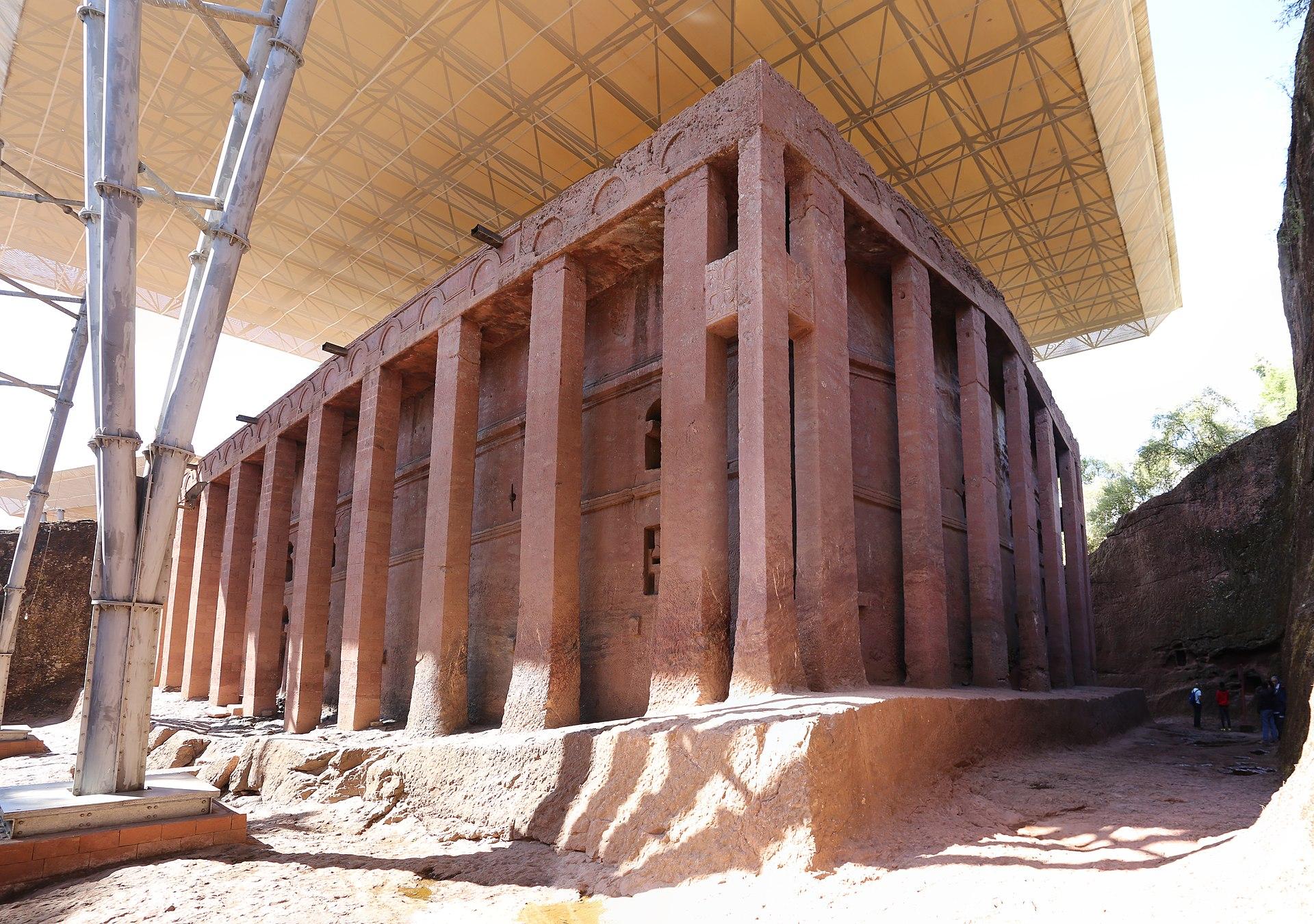 Nhà thờ đá nguyên khối