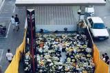 Người Trịnh Châu không được tưởng niệm nạn nhân tại cổng tàu điện ngầm