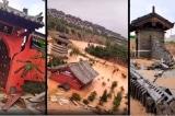 Lũ ở Hà Nam: Thiếu Lâm Tự bị ngập lụt thảm hại