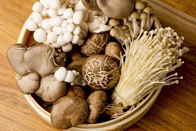 ăn nấm