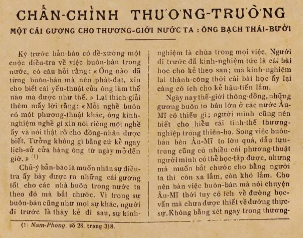 """Chuyện tay trắng lập nghiệp của """"Vua tàu thủy"""" Bạch Thái Bưởi (P2)"""