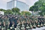 600 học viên Học viện Quân y tiếp tục vào TP.HCM
