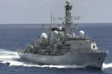 Chiến hạm Anh đi qua eo biển Đài Loan đến thăm Việt Nam