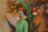 Các hoàng nữ nhà Nguyễn và tấm vải bọc điều