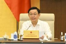 Sáp nhập cấp huyện, xã: Chủ tịch Quốc hội lưu ý 'sao chi thường xuyên không giảm'