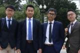 Các nhà lãnh đạo trẻ Hồng Kông tập trung ở Washington để vận động hành lang