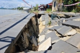 Kè 135 tỷ đồng ở Hội An mới 4 năm đã sụt lún, đe dọa nhà dân trước mùa mưa bão
