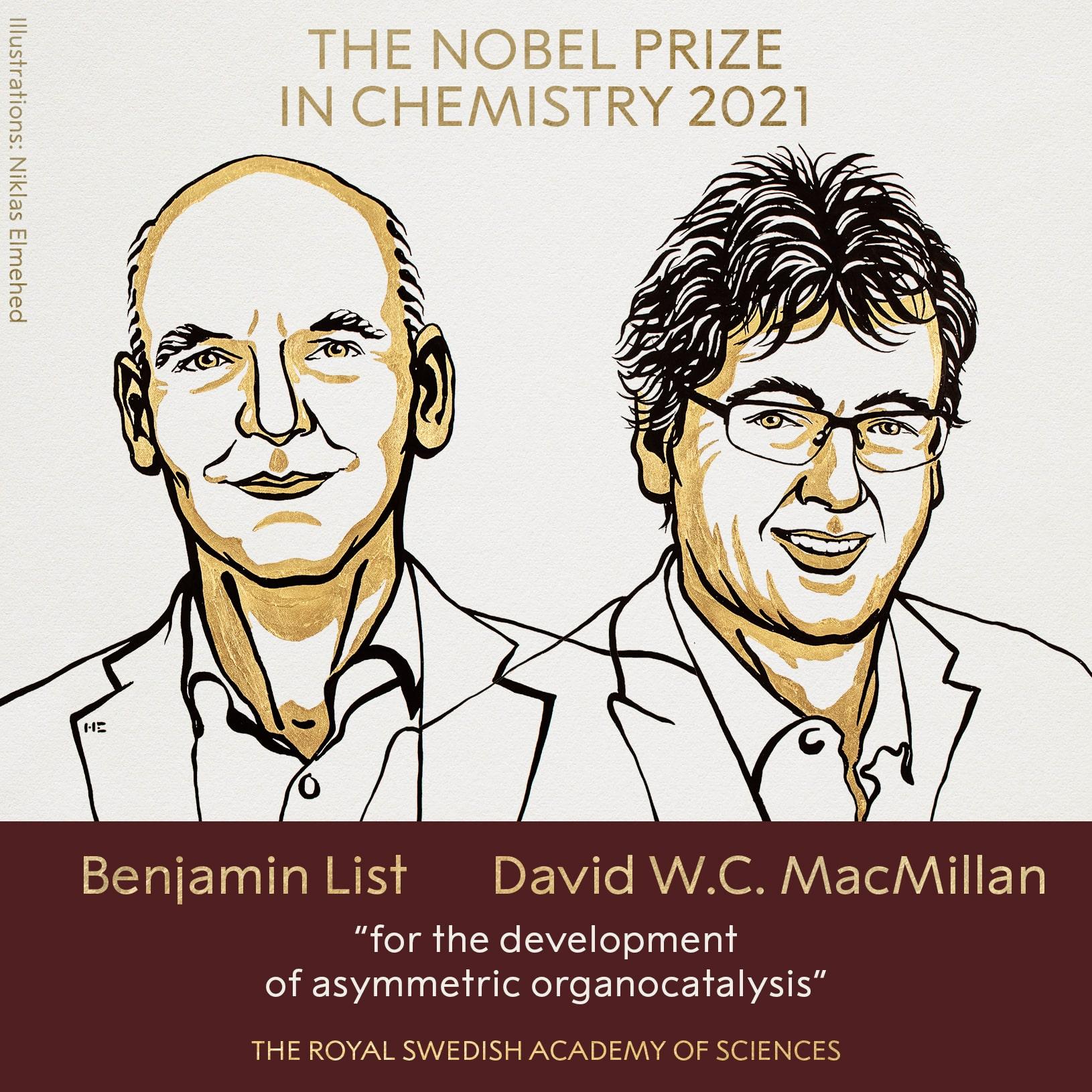 Giải Nobel Hóa học
