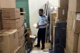Gần 10.000 khẩu trang nghi giả hãng 3M bị phát hiện trong khuôn viên Hội Chữ thập đỏ