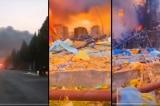 Trung Quốc: Nhà máy hóa chất Sơn Đông cháy nổ, khói đen bay đầy trời